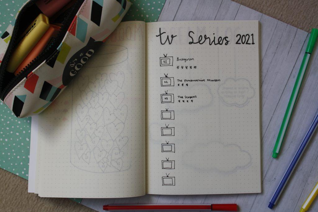 easy bullet journal spread for beginners - simple and easy february bullet journal spread