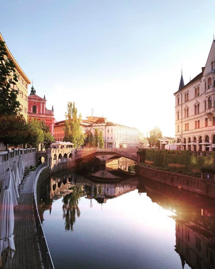 ultimate bucket list of places to visit in europe - ljubliana bridge